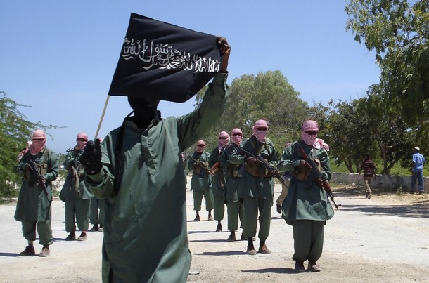 The Harakat Shabaab al-Mujahidin, (a.k.a  Al Shabaab) is the Somali arm of Al Qaeda responsible for the Kenyan mall massacre.