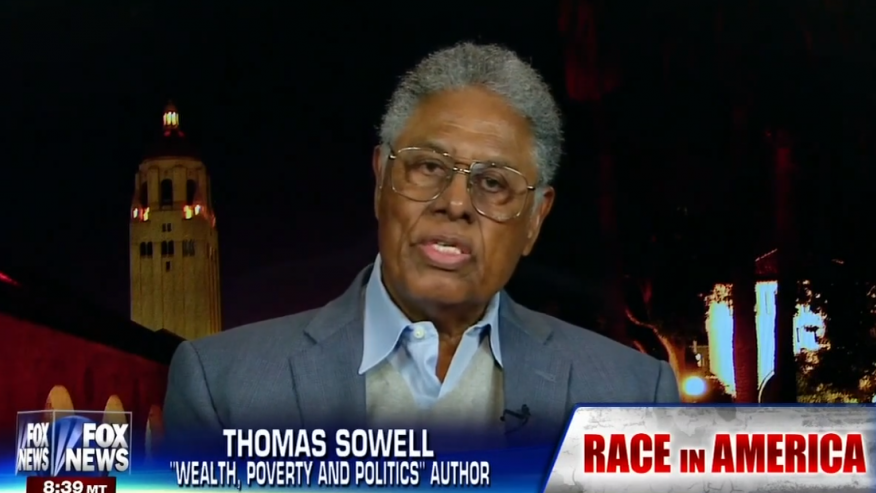 Thomas Sowell offers his take on the destructive Black Lives Matter group.